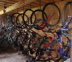 Fahrräderausleih