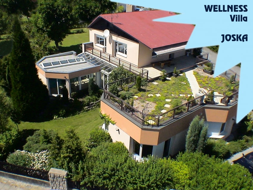 Wellness holiday villa JOSKA with in-door swimming pool, sauna and steam bath