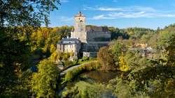 Burg KOST - zu Fuß ab Haus erreichbar