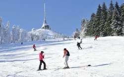 skiresort Jested - all kinds of ski slopes