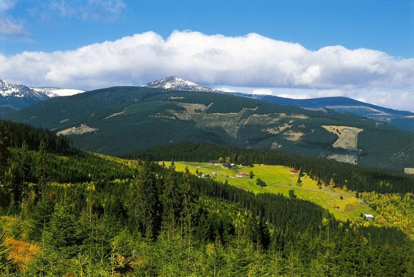 Riesengebirge mit Schneekoppe