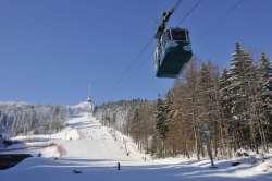 Skifahren am Jested-Jeschken