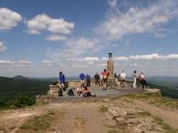 Aussicht vom Berg Luz