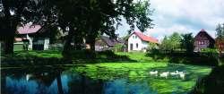 Dorfachitektur in Vesec