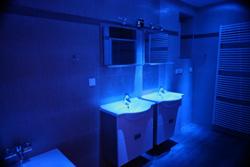 Ambiente Beleuchtung im Badezimmer