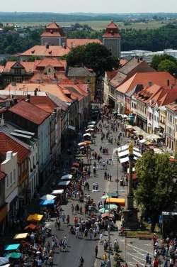 Altstadt von Mlada Boleslav - Markt