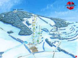 Ein von den Skigebieten in der Nähe - hier Obri sud-Javornik - weitere Skigebiete siehe WINTERSPORT im Hauptmenü
