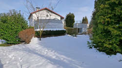 Haus Joska-Garten im Winter