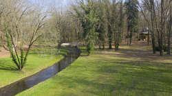 Park in der Nähe im März