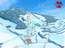 Skiregion etwa 25 Autominuten